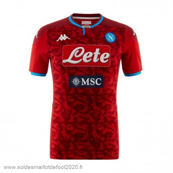 Maillot France Foot Maillot Gardien Napoli 2019 2020 Rouge