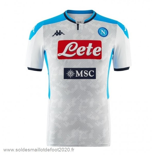 Maillot France Foot Third Maillot Napoli 2019 2020 Gris