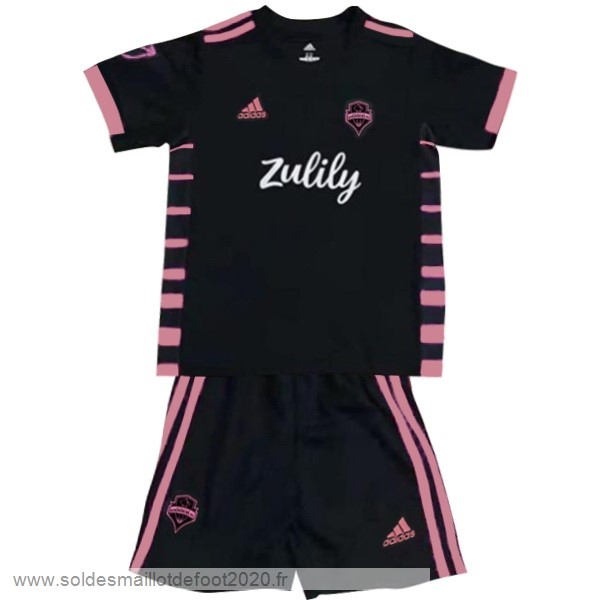 Maillot France Foot Exterieur Conjunto De Enfant Seattle Sounders 2019 2020 Noir