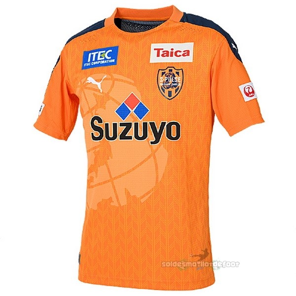 Maillot France Foot Domicile Maillot Shimizu S Pulse 2020 2021 Orange