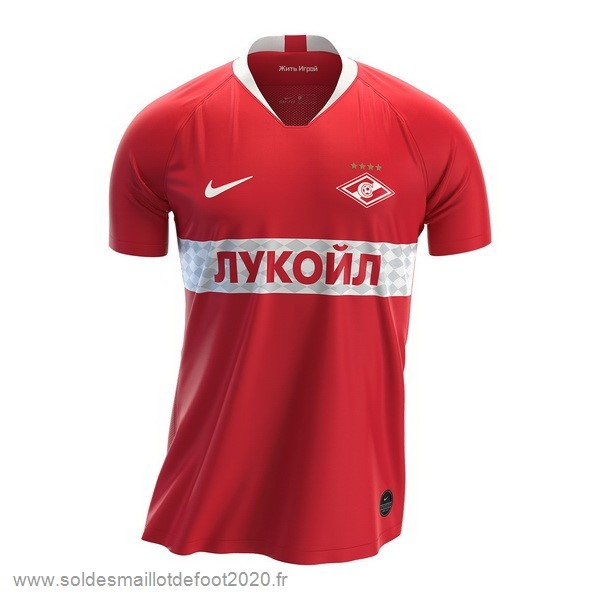 Maillot France Foot Domicile Maillot Spartak de Moscú 2019 2020 Rouge