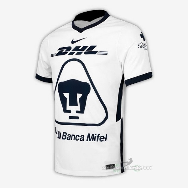 Maillot France Foot Domicile Maillot UNAM Pumas 2020 2021 Blanc