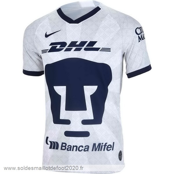 Maillot France Foot Domicile Maillot UNAM Pumas 2019 2020 Blanc