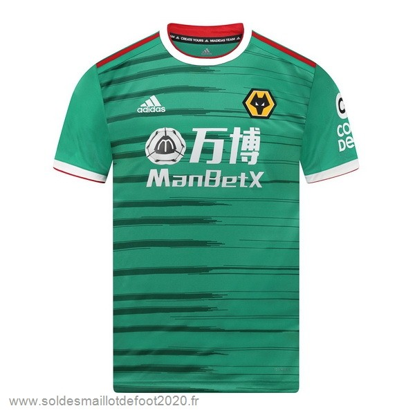 Maillot France Foot Third Maillot Wolves 2019 2020 Vert