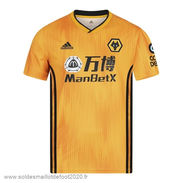 Maillot France Foot Domicile Maillot Wolves 2019 2020 Jaune